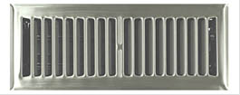 Stainless floor grill