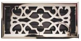 Nickle Plated floor grill