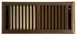 bronze floor grill