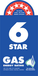 Gas 6 star rating
